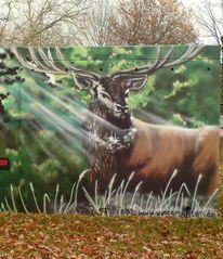 Graffiti, Graffitiauftrag, Wandgestalten, Auftragsarbeit