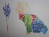 Pastellmalerei, Zeichnung, Kind, Zeichnungen