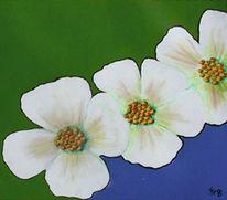 Frisch, Grün, Malerei, Frühling
