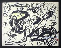 Abstrakt, Grafik, Insekten, Löwe