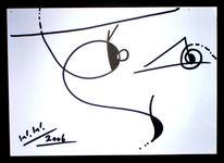 Abstrakt, Grafik, Augen