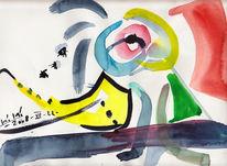 Abstrakt, Zeichnung, Zeichnungen, Anfang