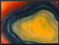 Malerei, Abstrakt, Licht, Ende