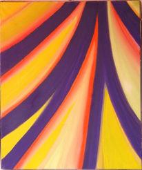 Abstrakt, Malerei, Weg, Ziel