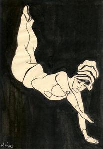 Zeichnung, Zeichnungen, Bock