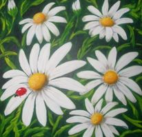 Stillleben, Blumen, Malerei
