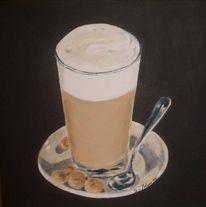 Stillleben, Kaffee, Malerei