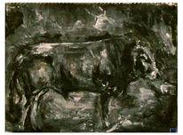 Stier, Malerei
