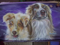 Tiere, Metall, Airbrush, Heckklappe