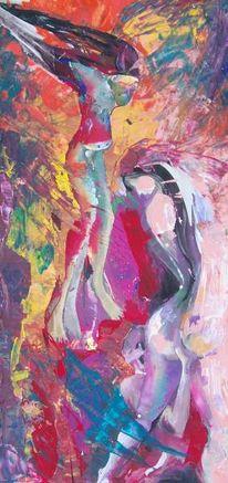 Malerei, Abstrakt, Verführung