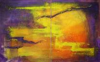 Abstrakt, Malerei, Freiheit
