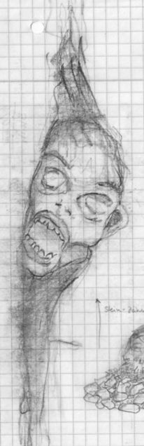 Zeichnung, Abstrakt, Zeichnungen, Skulptur