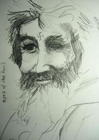 Manson, Zeichnungen, Portrait