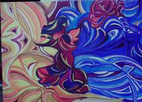 Malerei, Surreal, Tsunami