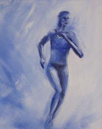 Figural, Bewegung, Lieblingsfarbe, Malerei