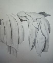 Jacke, Falten, Kleidung, Schatten