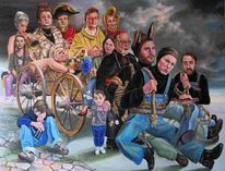 Surreal, Europa, Figurale malerei, Pinocchio