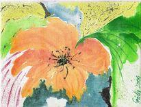 Urwald, Aquarellmalerei, Grafik, Regen