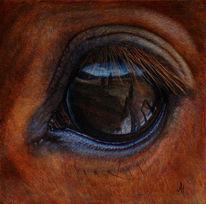 Augen, Realismus, Traum, Gemälde