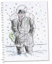 Schnee, Zeichnung, Skizze, Zeichnungen