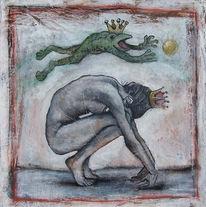 Frosch, Prinzessin, Malerei