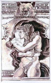 Tanzbär, Buonarroti, Kind, Michelangelo