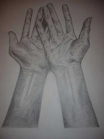 Zeichnung, Hände, Hand, Zeichnungen