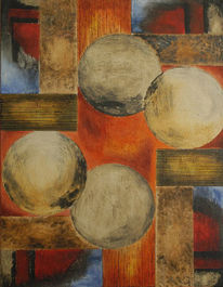 Abstrakt, Modern, Acrylmalerei, Malerei