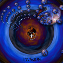 Ufo´s, Abstrakt, Invasion, Weltall
