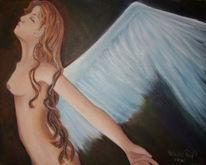 Angel, Engel angel flügel, Flügel, Malerei