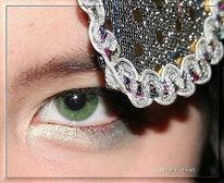 Augen, Maske, Blau, Fotografie