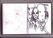 Stich, Worte, Zeichnungen