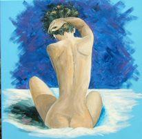 Figural, Acrylmalerei, Akt, Weiblich