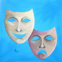 Acrylmalerei, Abstrakt, Malerei, Liebe