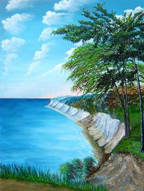 Meer, Acrylmalerei, Ostsee, Malerei