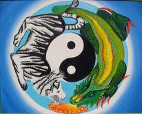 Malerei, Yang, Yin