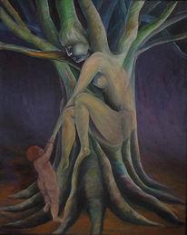 Fantasie, Antike, Abstrakt, Baum