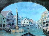 Venedig, Landschaft, Stadtansichten, Biburg