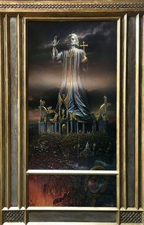 Christusstatue, Sünde, Ars sacra, Religion