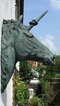 Märchen, Pferdekopf, Fantastische kunst, Elfen