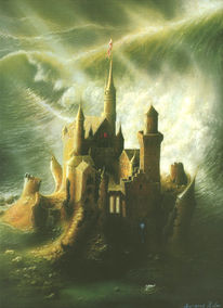 Allgäuer, König ludwig 1, Kunstdrucke, Welle