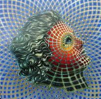 Fantastische kunst, Gemälde, Moderne kunst, Modern