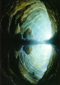 Menschen, Spaceart, Landschaft, Cueva