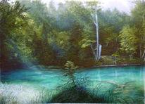 Wunderberg, Wald, Landschaft, Kunstakademie reichenhall
