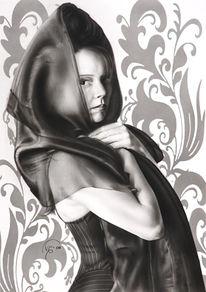 Airbrush, Akt, Malerei, Mystik