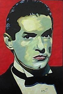 Figural, Falco, Malerei, Portrait