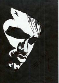 Schwarz weiß, Pseudoerotisch, Portrait, Smiths