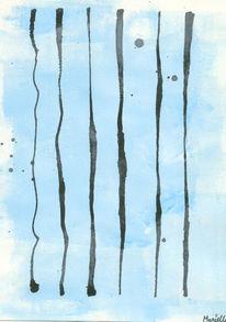 Grafik, Druck, Tintenstreifen, Tinte