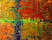 Spachtel, Malerei, Spachteltechnik, Acrylmalerei