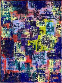 Acrylmalerei, Spachtelmalerei, Abstrakt, Spachtel